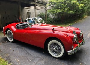 1957 Jaguar XK140 MC Roadster