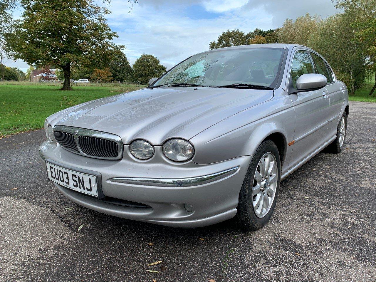 2003 Jaguar X-Type 2.5 V6 SE Auto For Sale (picture 1 of 6)