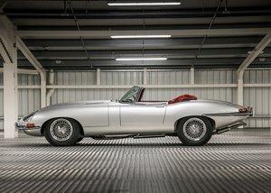 1966 Jaguar E-Type Series I Roadster (4.2 Litre) For Sale by Auction