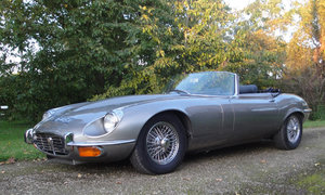 1973 Jaguar E-Type Series 3 Roadster For Sale by Auction