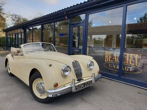 1955 Fully restored Jaguar XK 140 Drop Head Coupe For Sale