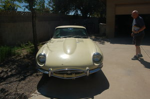 1967 EType 4.2 Coupe LHD from California For Sale