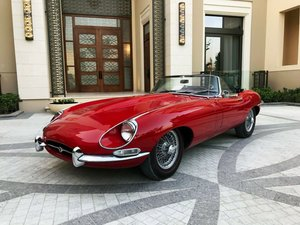 1968 Jaguar E-Type XKE Series 1.5 Convertible For Sale