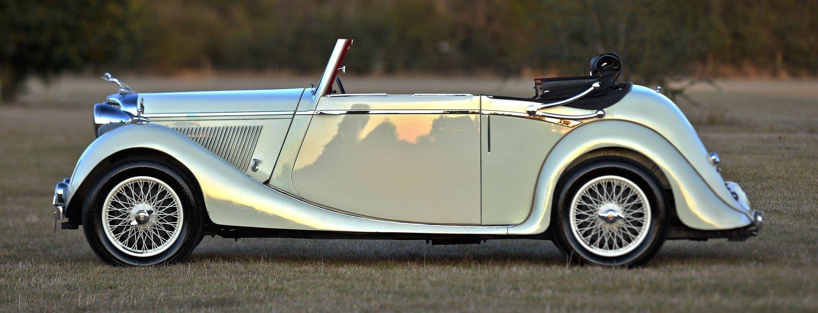 1939 Jaguar SS 1 ½ Litre Drophead Coupe For Sale (picture 2 of 6)