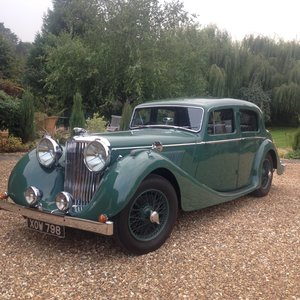 1947 Jaguar 3.5 MK IV For Sale