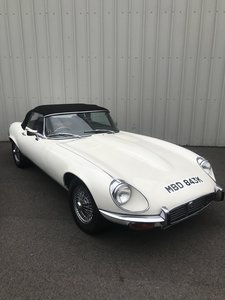1972 Jaguar E Type Series III Roadster Manual for auction.