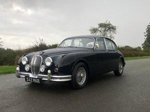 1961 Jaguar MK II 3.4 Saloon Manual Overdrive For Sale