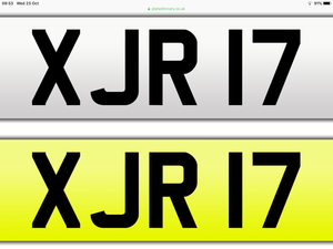2003 XJR 17 registration number For Sale