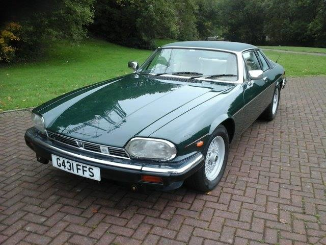 1990 Jaguar XJS HE Auto For Sale by Auction (picture 1 of 6)