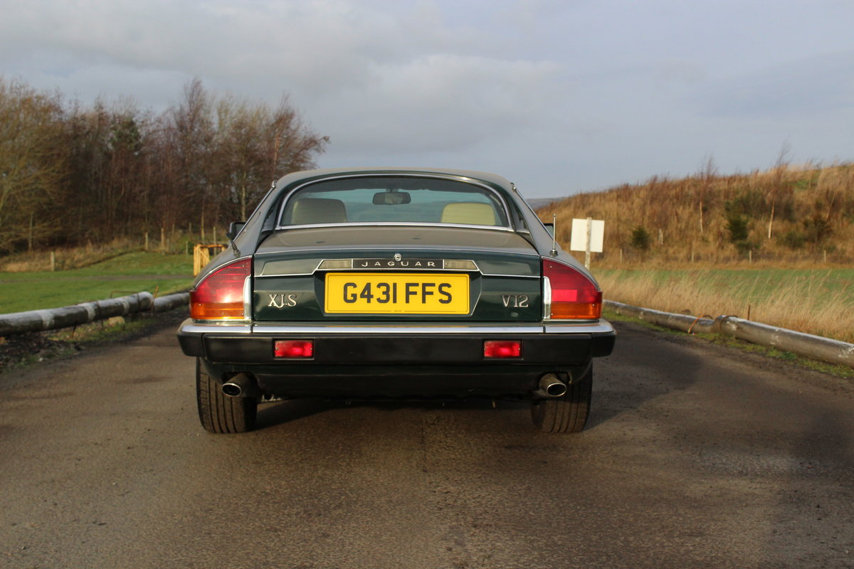 1990 Jaguar XJS HE Auto For Sale by Auction (picture 2 of 6)