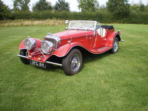 1934 Jaguar ss100 replica For Sale
