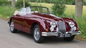 XK150 3.8DHC   One previous owner  UK original car