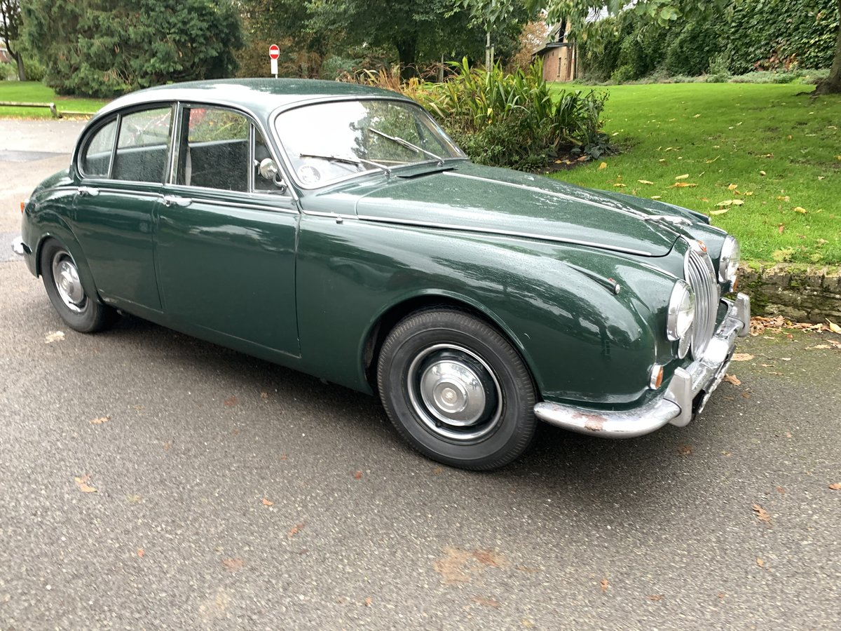 1967 jaguar  240 MK II  manual   For Sale (picture 1 of 6)