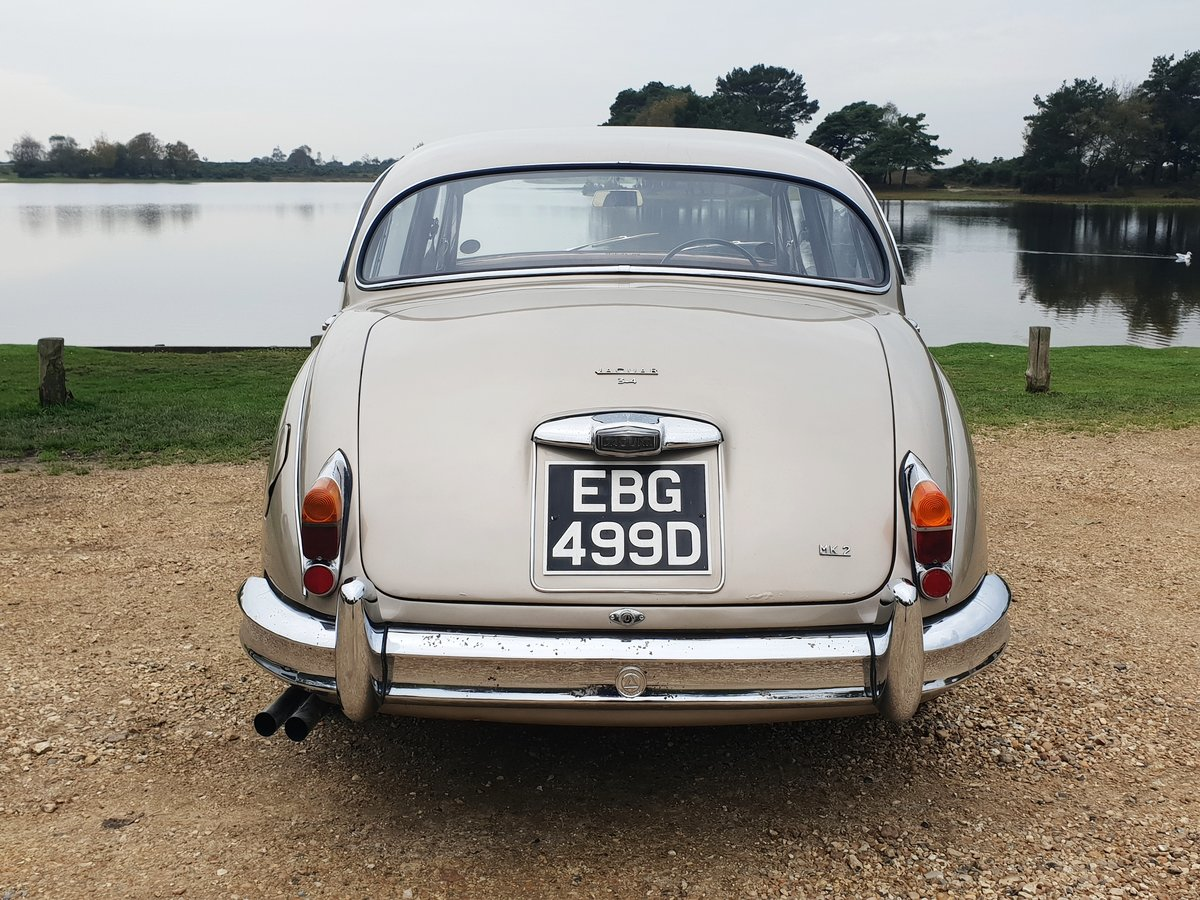 1966 Jaguar MK2 3.4L MOD matching numbers 70k miles For Sale (picture 5 of 6)