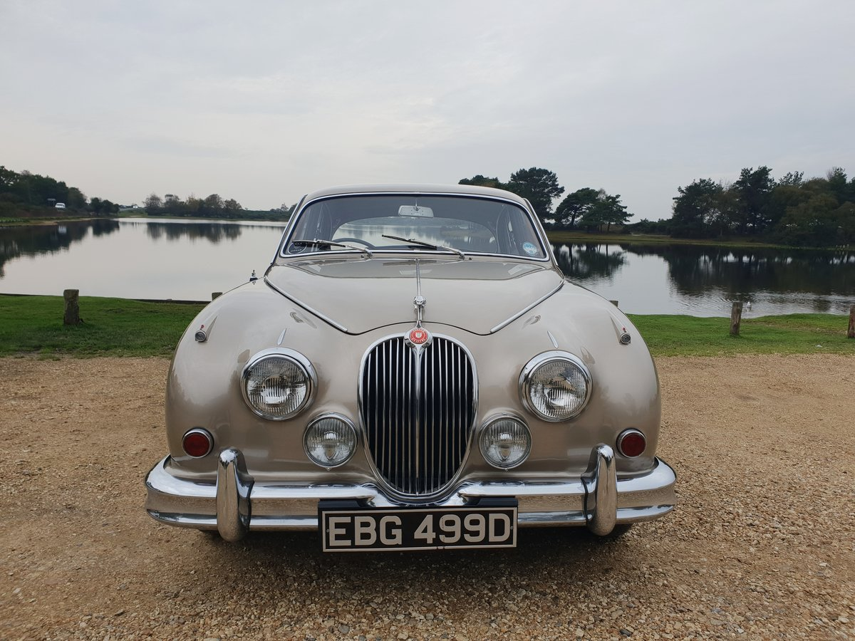 1966 Jaguar MK2 3.4L MOD matching numbers 70k miles For Sale (picture 6 of 6)