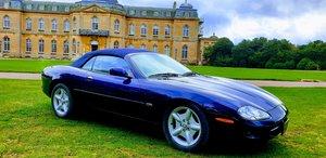 1999 LHD Jaguar XK8 4.0 V8 Convertible, LEFT HAND DRIVE FSH For Sale
