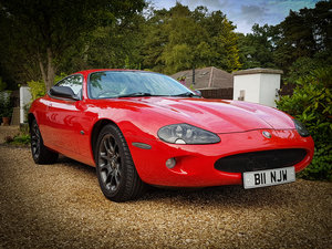 1998 Jaguar XKR Supercharged Stunning Phoenix Red For Sale