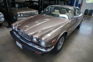 Orig California owner 1986 Jaguar Vanden Plas with 57K miles SOLD