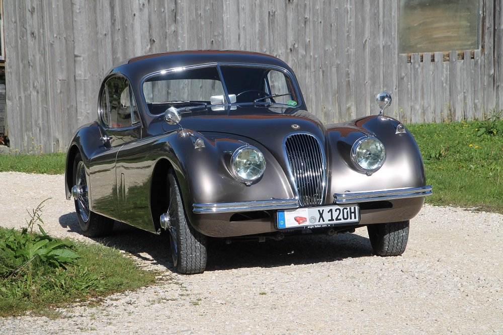1954 XK 120 FHC / opalescent bronze / top condition For Sale (picture 1 of 6)
