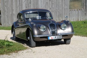 1954 XK 120 FHC / opalescent bronze / top condition For Sale