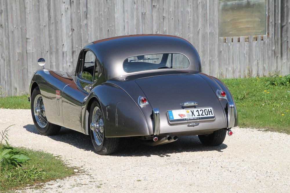 1954 XK 120 FHC / opalescent bronze / top condition For Sale (picture 2 of 6)