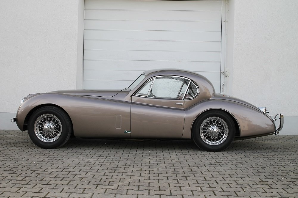 1954 XK 120 FHC / opalescent bronze / top condition For Sale (picture 6 of 6)