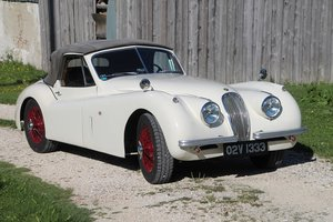1954 XK 120 DHC with super patina For Sale