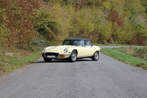 1972 Jaguar Type E series 3 V12 roadster