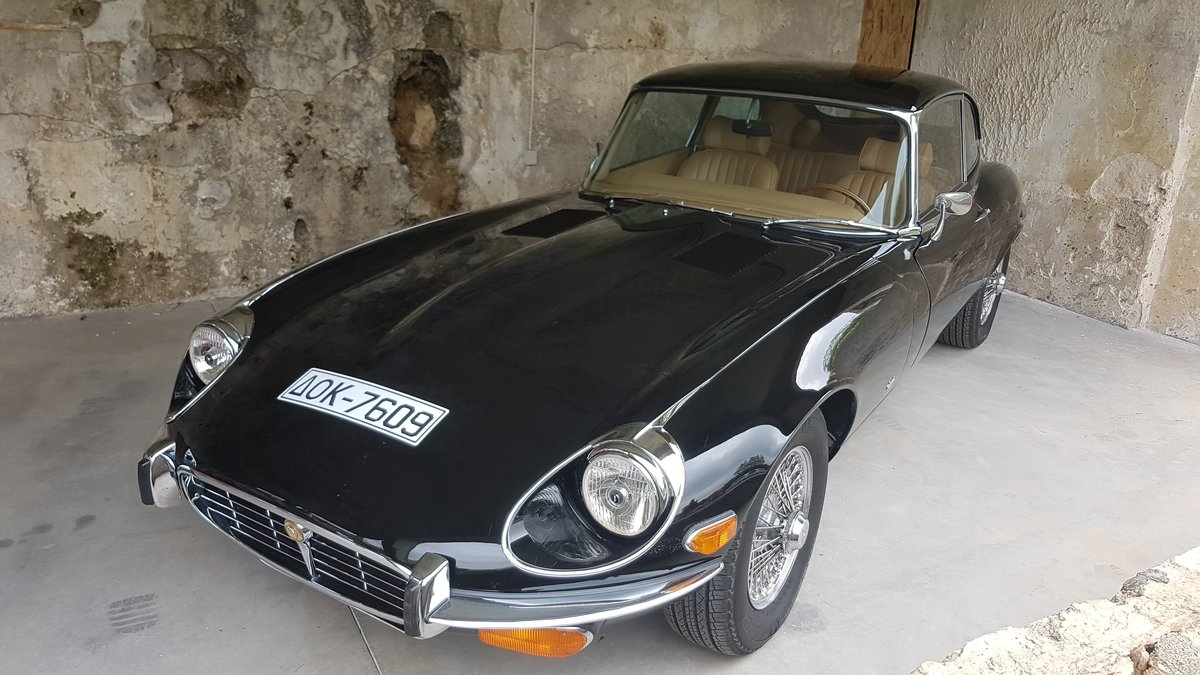 1974 Jaguar E type S3 Coupe 2+2 For Sale (picture 1 of 6)