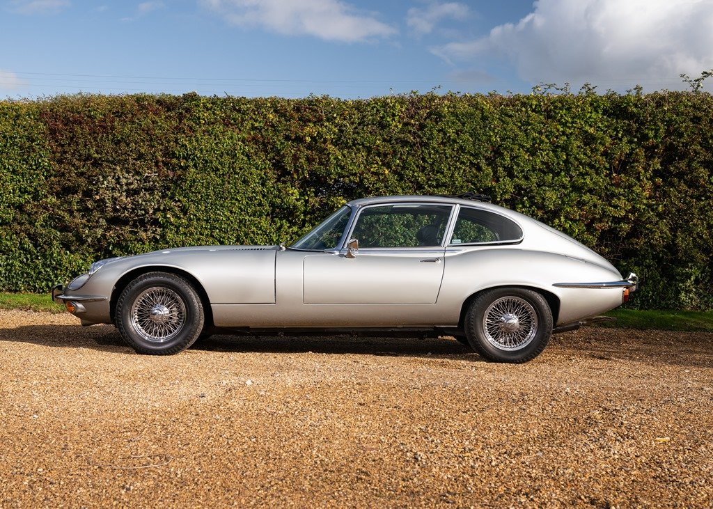 1972 Jaguar E-Type Series III Fixedhead Coup SOLD by Auction (picture 1 of 6)