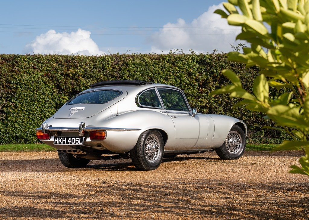 1972 Jaguar E-Type Series III Fixedhead Coup SOLD by Auction (picture 3 of 6)
