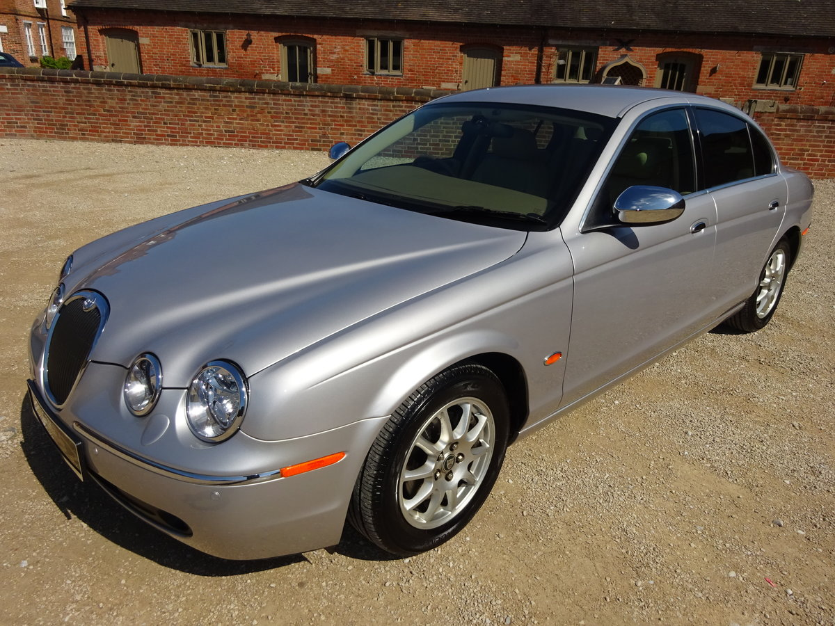 2005 JAGUAR S-TYPE 2.5 V6 AUTO - COVERED 21K MILES 1 OWNER   For Sale (picture 6 of 6)
