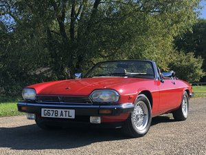 Picture of 1989 Jaguar XJS 5.3L V12 Convertible 18000 miles