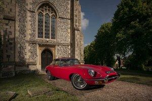 Jaguar E-Type FHC Series 2 -the rarest of them all