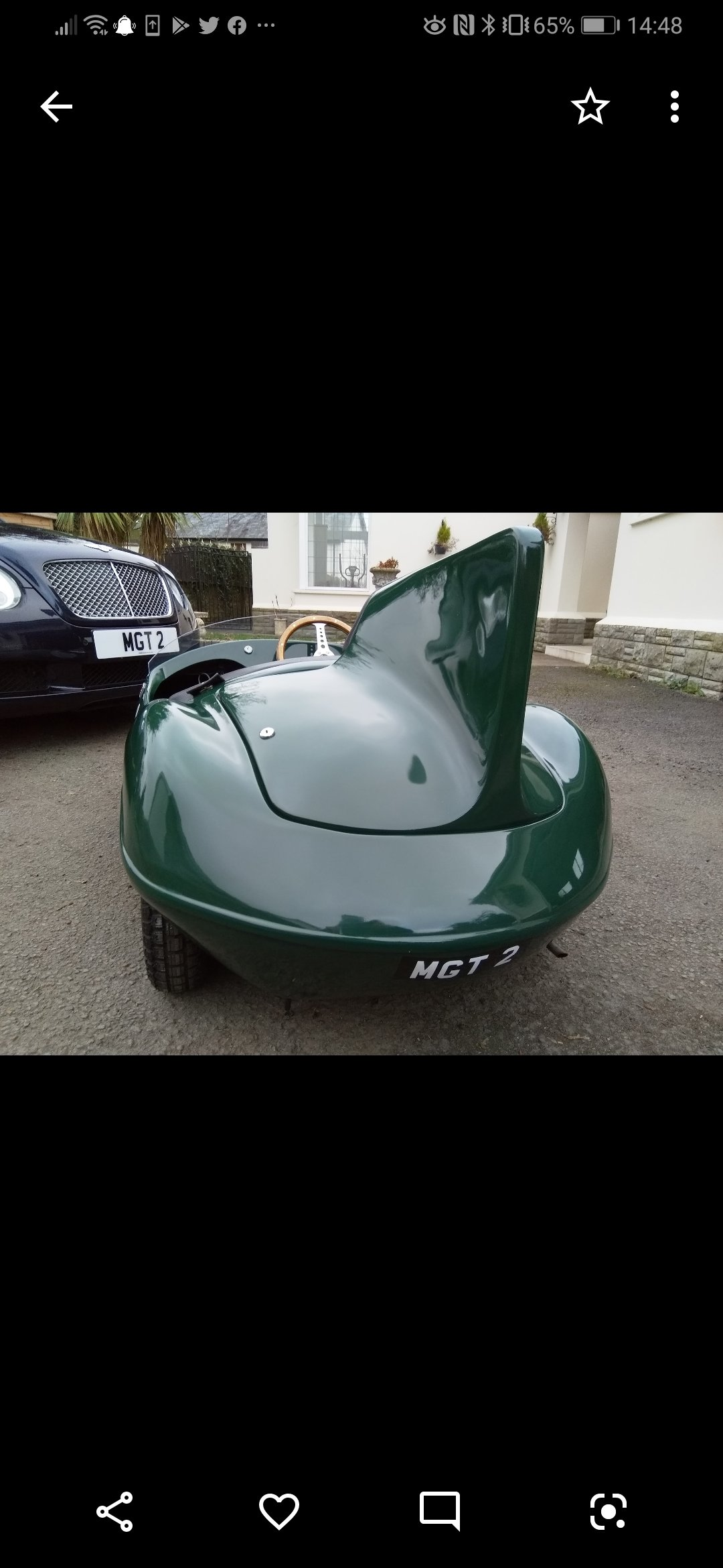Jaguar D Type toy car - Perfect Christmas gift! For Sale (picture 3 of 6)