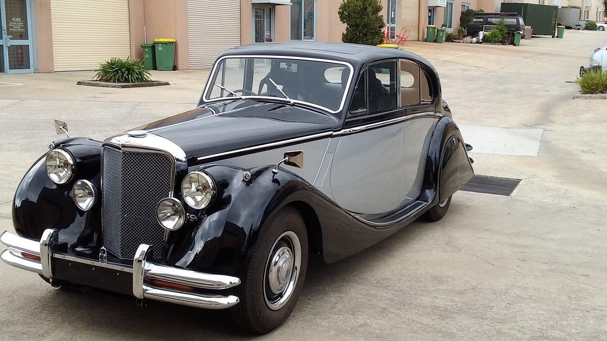 1951 Jaguar Mark V sedan restored For Sale (picture 1 of 6)