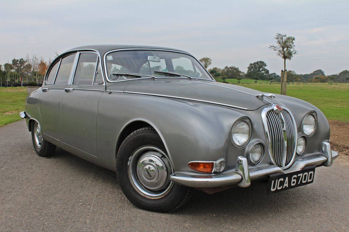 1966 Jaguar S type 3.4 Manual Overdrive For Sale   Car And ...