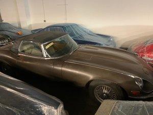For sale 1972 Jagaur V12 Roadster project SOLD