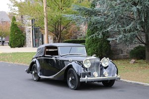 1948 Jaguar Mark IV Drophead Coupe Left-Hand Drive  #23100 SOLD
