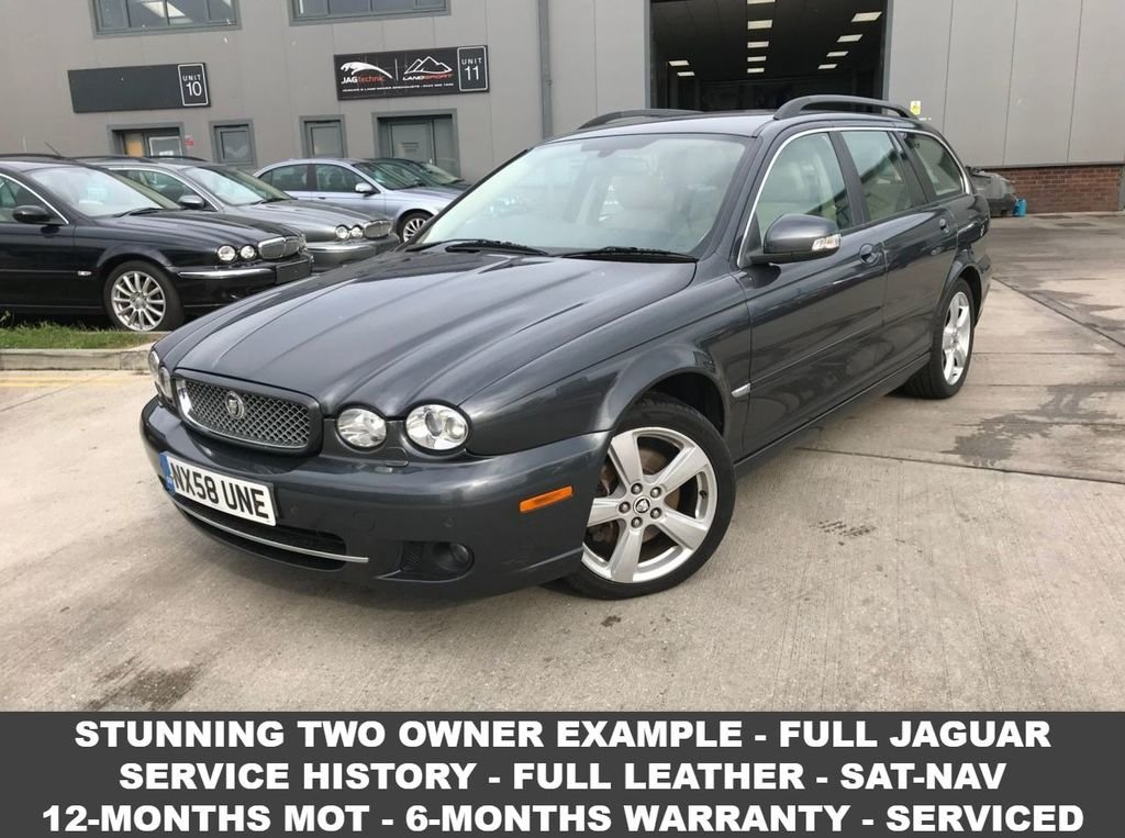 2008 Jaguar X-Type 79,000 Mls-Full Jag Service History For Sale (picture 1 of 4)