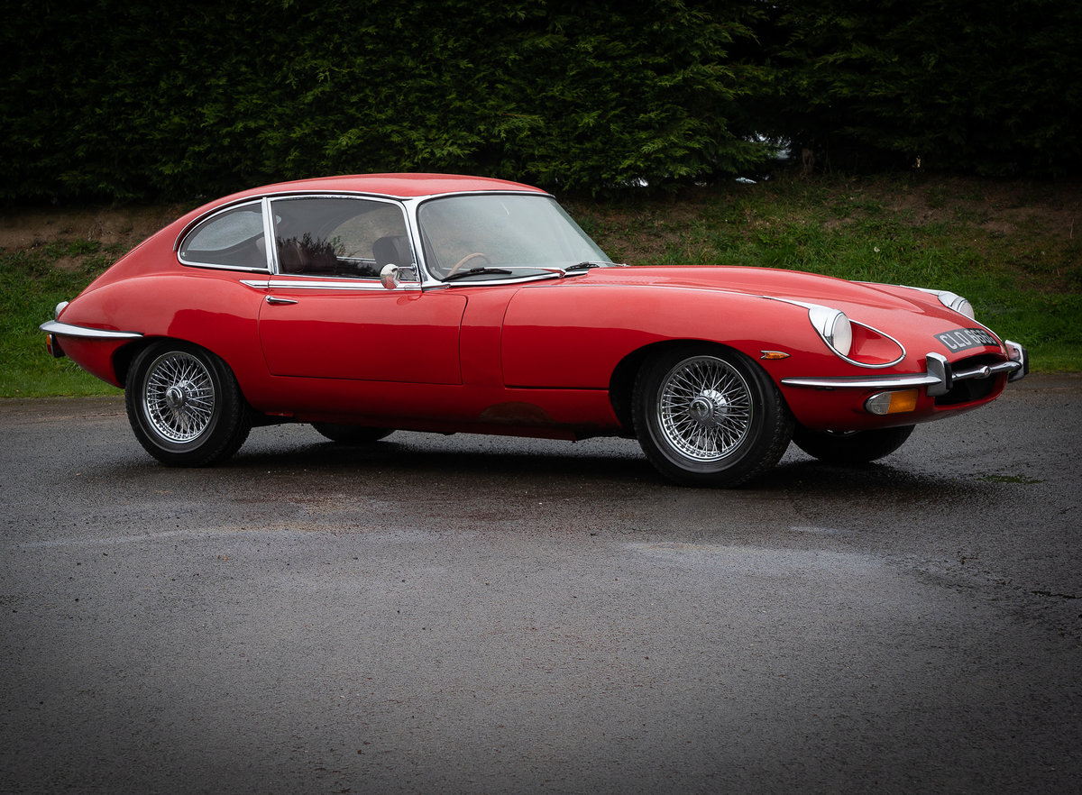 1969 Jaguar E-Type 2+2 For Sale by Auction (picture 1 of 6)