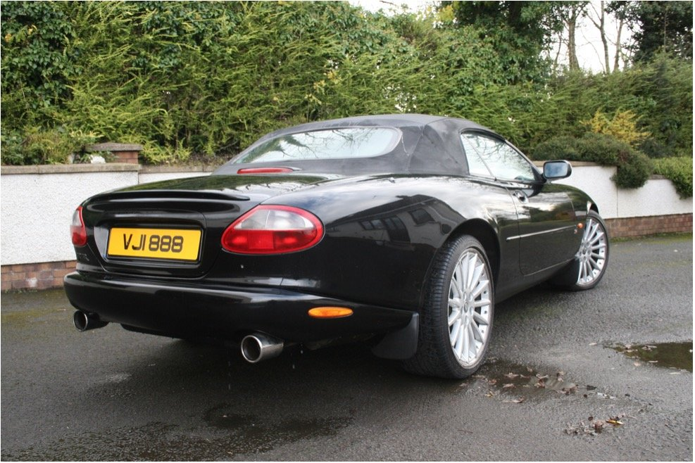1998 xk8 convertable low mileage For Sale (picture 4 of 6)
