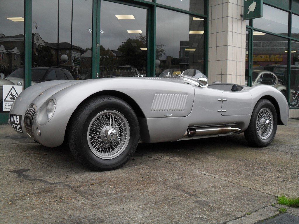 2016 Jaguar C Type Realm Engineering Recreation 4.2 Triple Webber For Sale (picture 1 of 5)