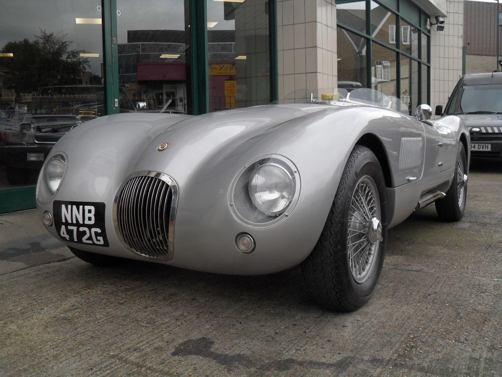 2016 Jaguar C Type Realm Engineering Recreation 4.2 Triple Webber For Sale (picture 2 of 5)