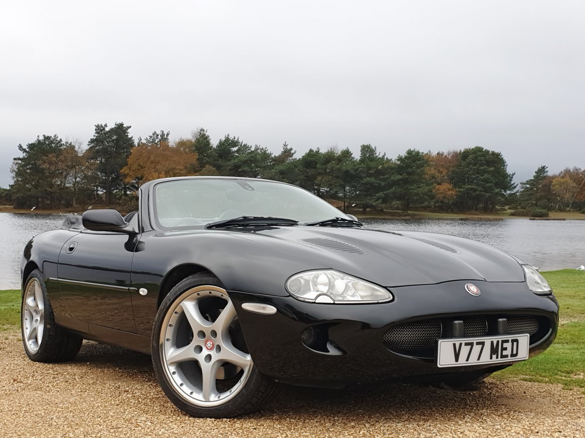1999 Jaguar XKR convertible 6 month warranty available For Sale (picture 1 of 6)