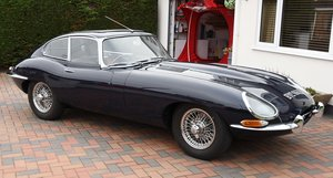 1964 Jaguar E - Type Series I FHC 3.8 Fully restored For Sale by Auction