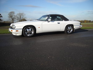 1996 JAGUAR XJS 4.0 CONVERTIBLE CELEBRATION RARE IN WHITE For Sale