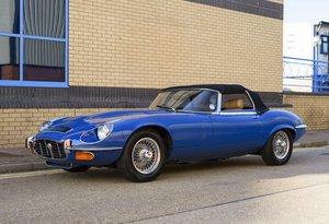 1973 Jaguar E-Type Series III V12 Roadster (RHD) For Sale