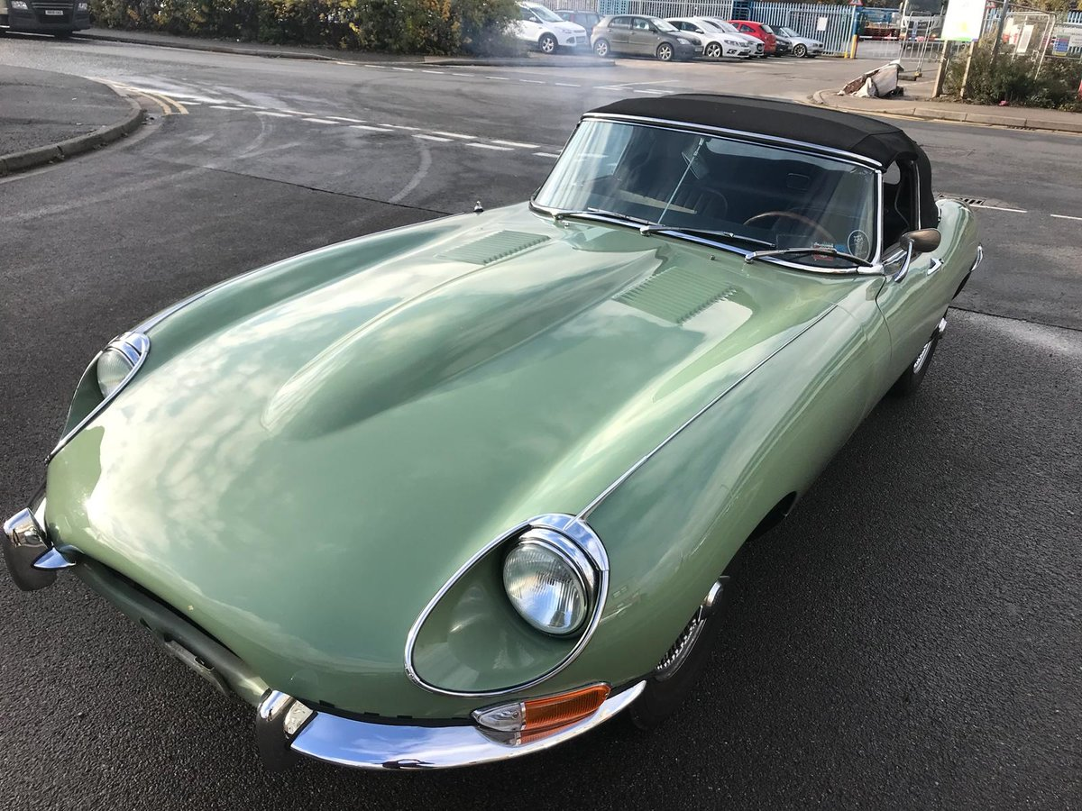 1968 Jaguar E-Type Roadster s1.5 For Sale (picture 1 of 6)