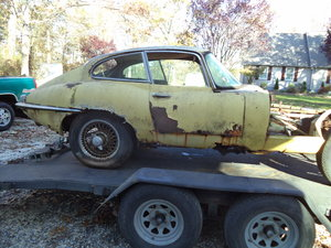 1965 Jaguar E-Type S1 4.2 Coupe - For Restoration  For Sale